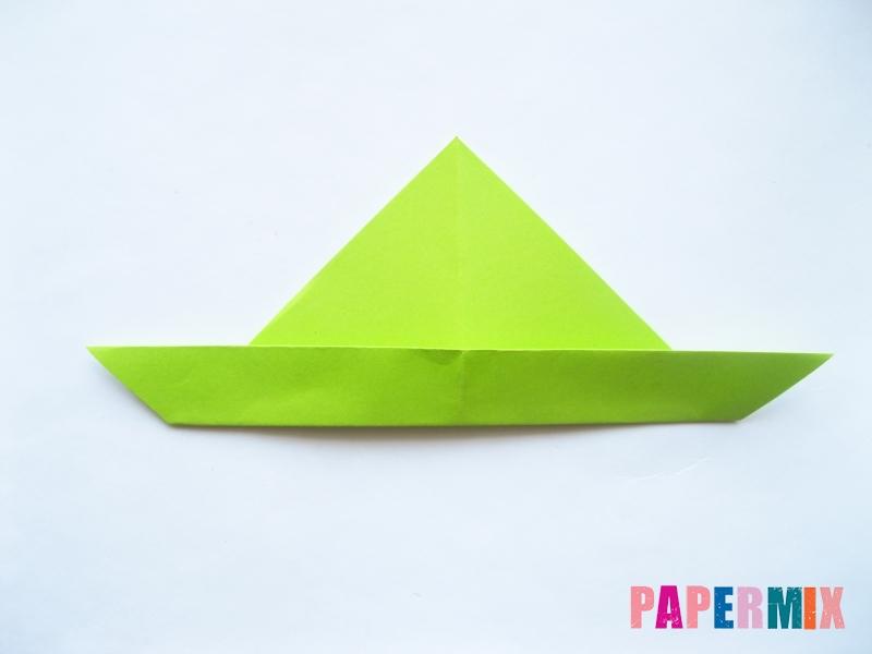 Как сделать голову лягушки из бумаги поэтапно - шаг 4