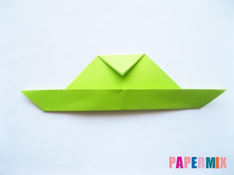 Как сделать голову лягушки из бумаги поэтапно - шаг 5