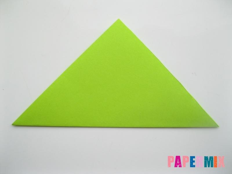 Как сделать гусеницу из бумаги (оригами) инструкция с фото - шаг 1
