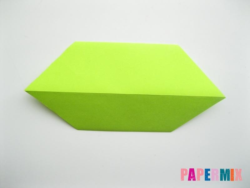 Как сделать гусеницу из бумаги (оригами) инструкция с фото - шаг 4