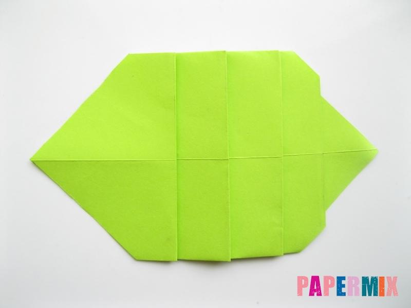 Как сделать гусеницу из бумаги (оригами) инструкция с фото - шаг 5