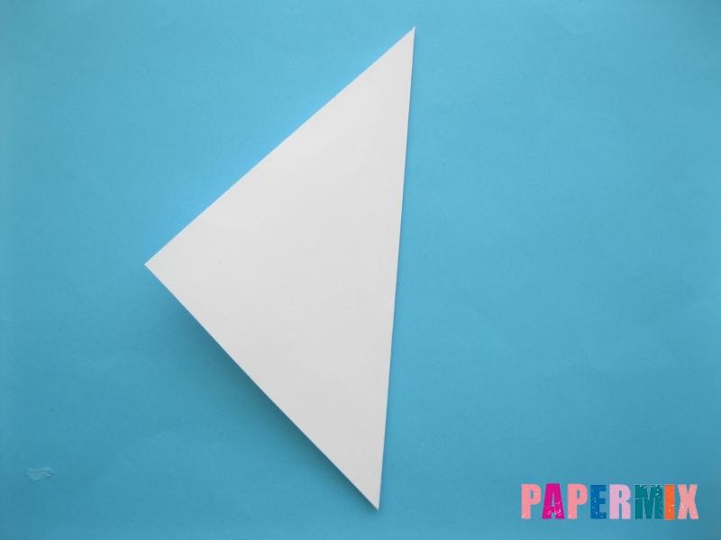 Как сделать из бумаги лебедя пошаговая инструкция - шаг 2