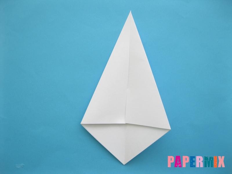 Как сделать из бумаги лебедя пошаговая инструкция - шаг 4