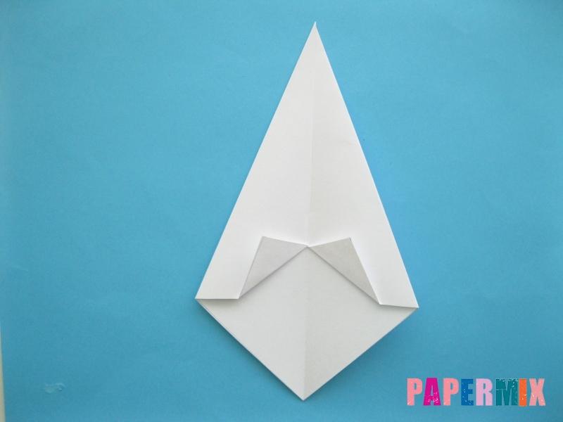 Как сделать из бумаги лебедя пошаговая инструкция - шаг 5