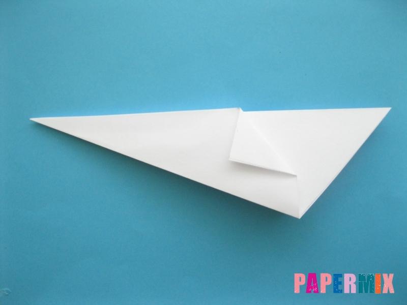 Как сделать из бумаги лебедя пошаговая инструкция - шаг 6