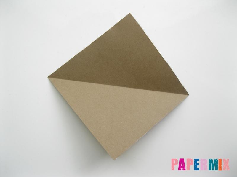 Как сделать кита из бумаги (оригами) инструкция с фото - шаг 2