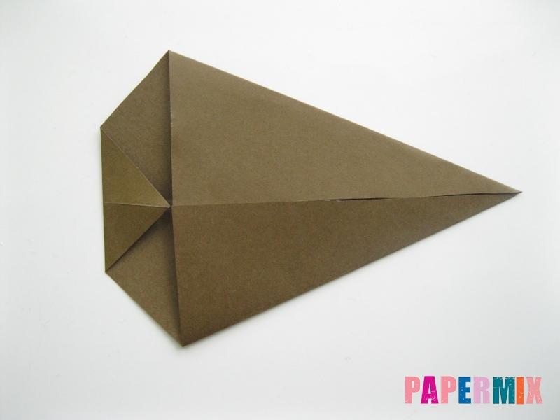 Как сделать кита из бумаги (оригами) инструкция с фото - шаг 4