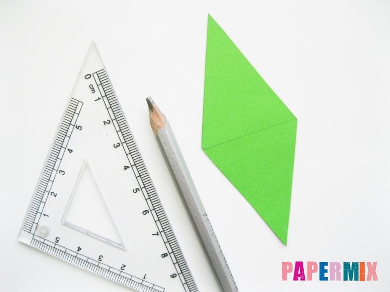 Как сделать крокодила из цветной бумаги своими руками - шаг 8