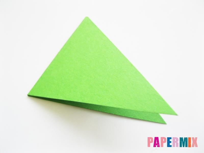 Как сделать крокодила из цветной бумаги своими руками - шаг 9