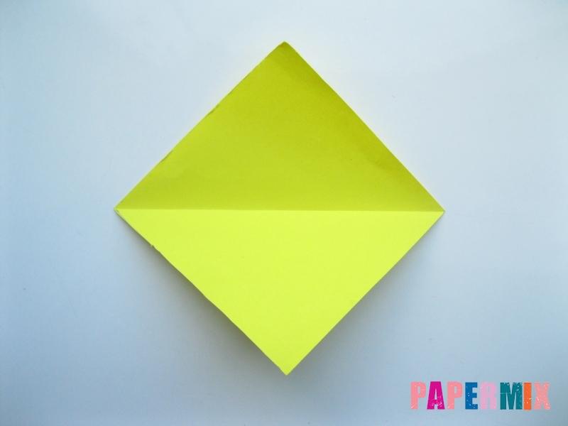 Как сделать льва из бумаги (оригами) своими руками - шаг 1