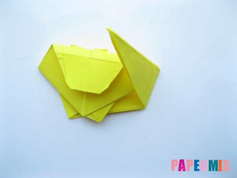 Как сделать льва из бумаги (оригами) своими руками - шаг 11