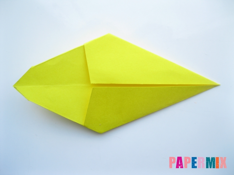 Как сделать льва из бумаги (оригами) своими руками - шаг 4