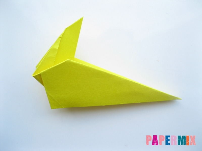 Как сделать льва из бумаги (оригами) своими руками - шаг 8