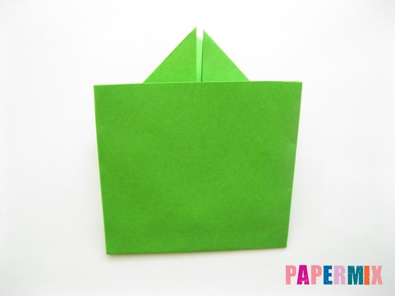 Как сделать лягушку из бумаги пошаговая инструкция - шаг 10
