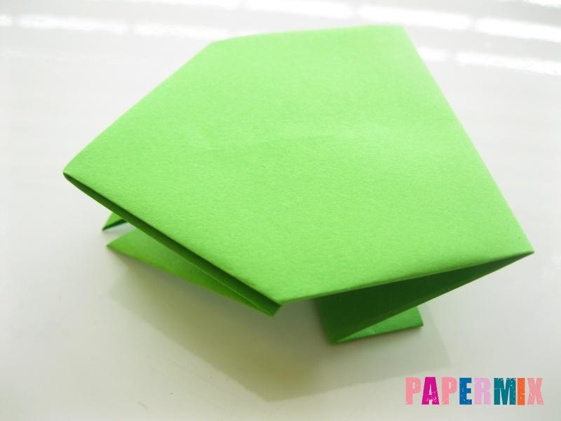 Как сделать лягушку из бумаги пошаговая инструкция - шаг 12