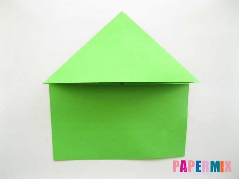 Как сделать лягушку из бумаги пошаговая инструкция - шаг 5