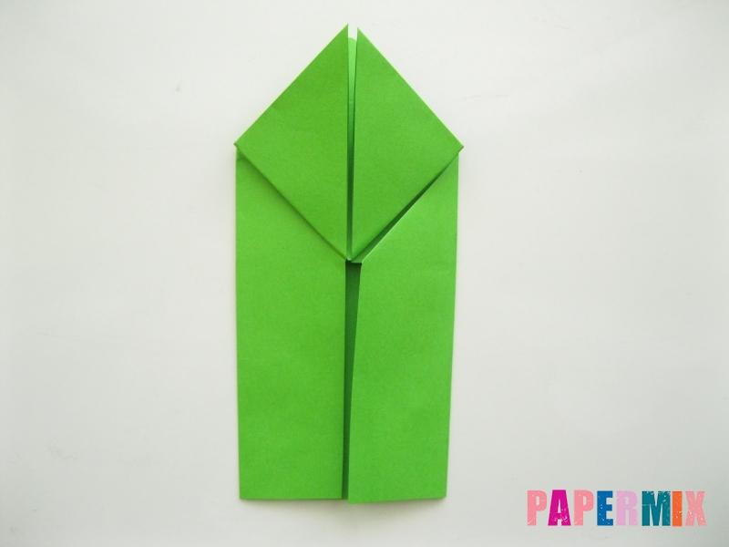 Как сделать лягушку из бумаги пошаговая инструкция - шаг 9