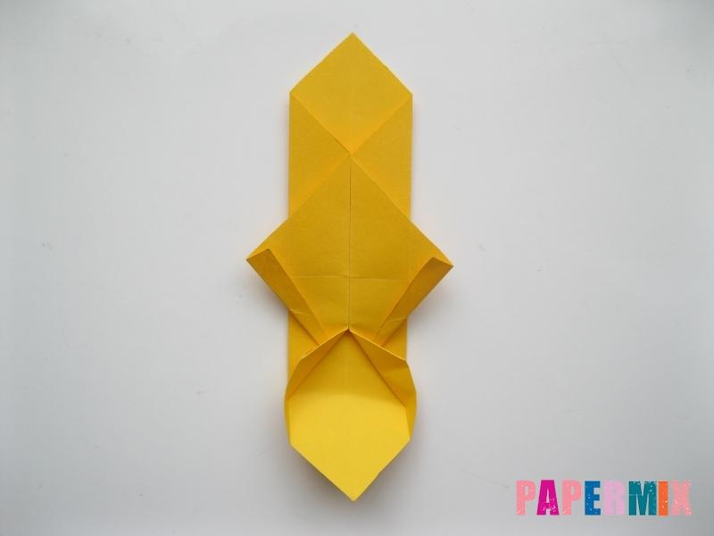 Как сделать медведя из бумаги (оригами) своими руками - шаг 10