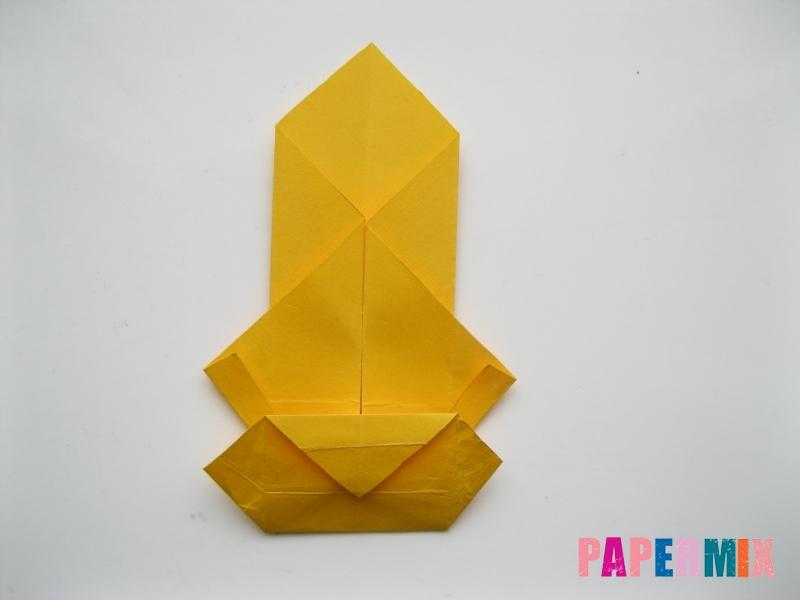 Как сделать медведя из бумаги (оригами) своими руками - шаг 12