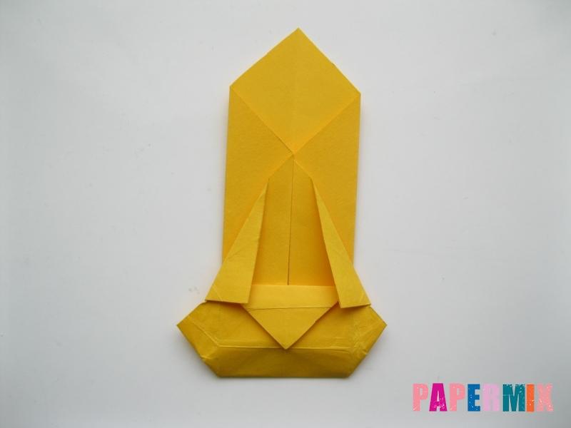Как сделать медведя из бумаги (оригами) своими руками - шаг 13