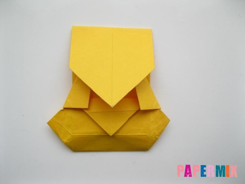Как сделать медведя из бумаги (оригами) своими руками - шаг 14