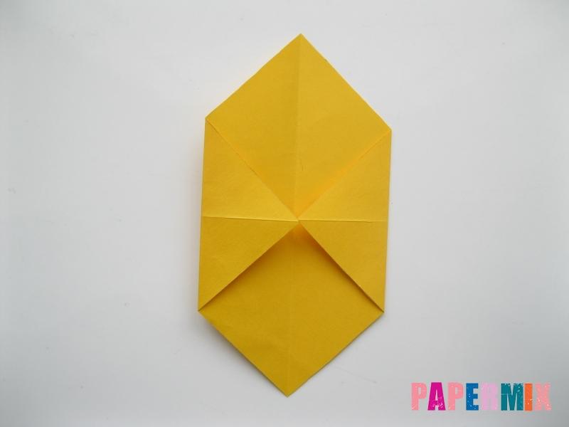 Как сделать медведя из бумаги (оригами) своими руками - шаг 2