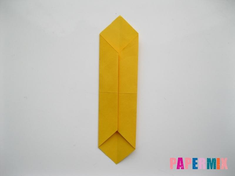 Как сделать медведя из бумаги (оригами) своими руками - шаг 3