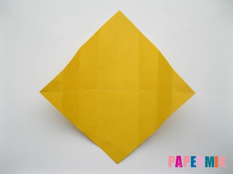 Как сделать медведя из бумаги (оригами) своими руками - шаг 4