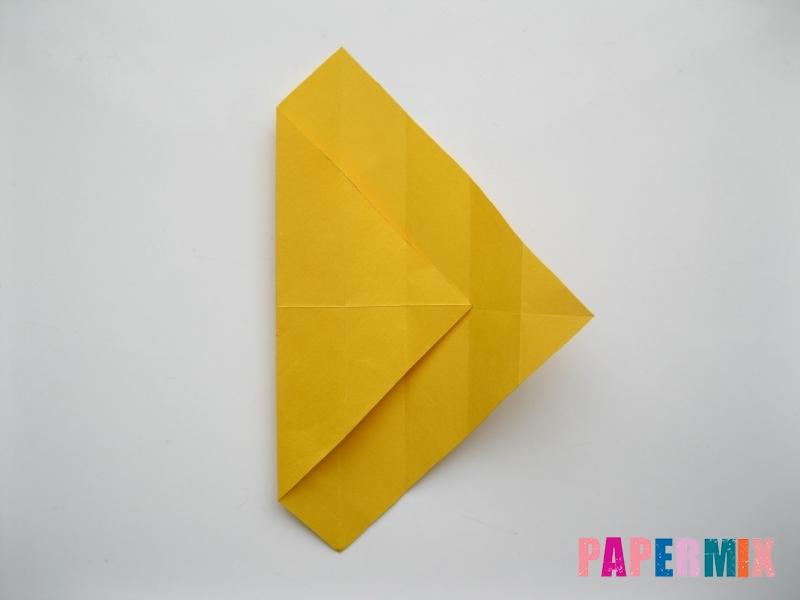 Как сделать медведя из бумаги (оригами) своими руками - шаг 5