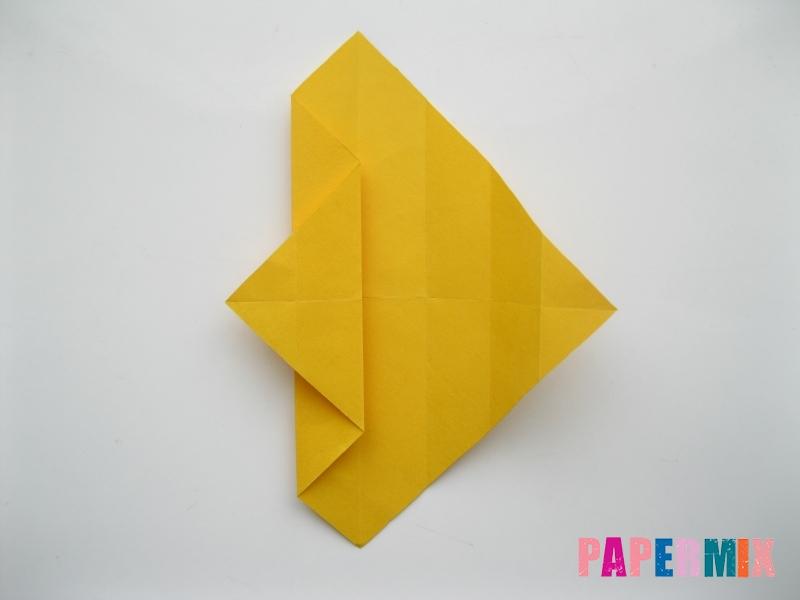 Как сделать медведя из бумаги (оригами) своими руками - шаг 6