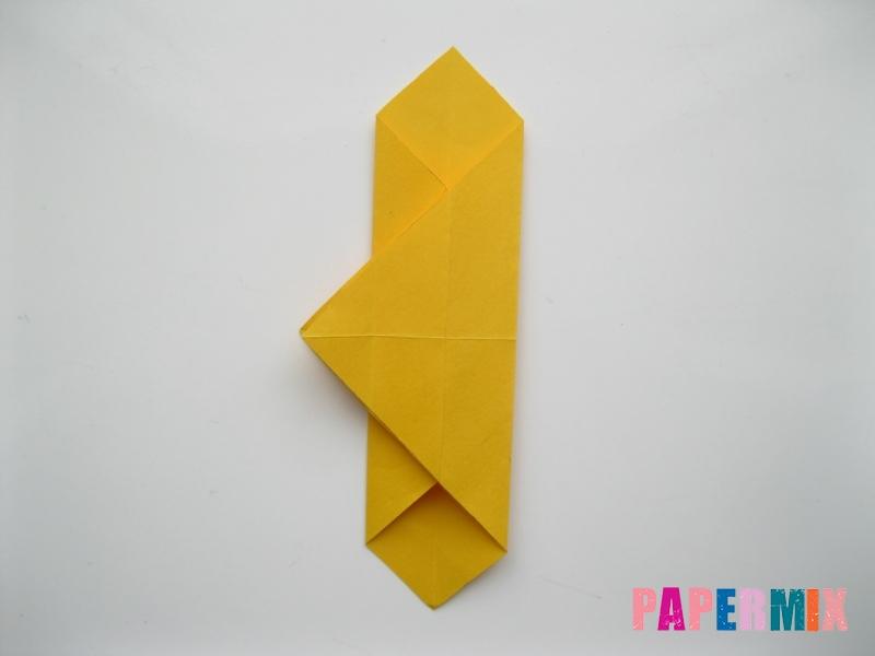 Как сделать медведя из бумаги (оригами) своими руками - шаг 7