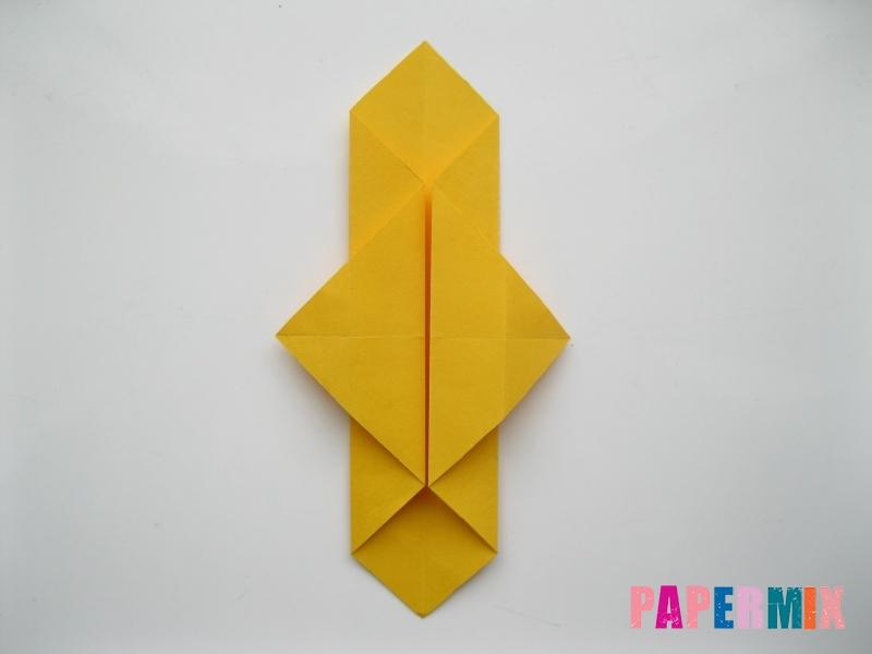 Как сделать медведя из бумаги (оригами) своими руками - шаг 8