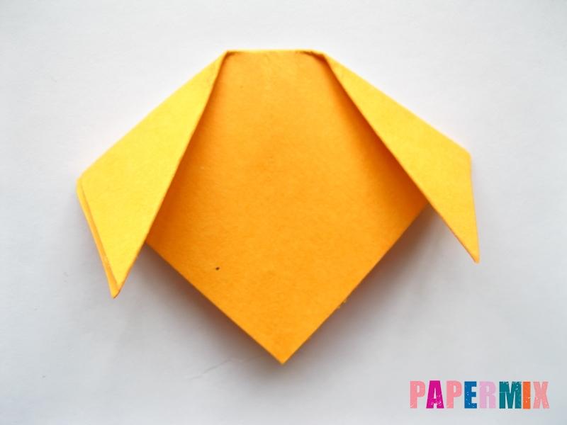 Как сделать мордочку собаки из бумаги поэтапно - шаг 5