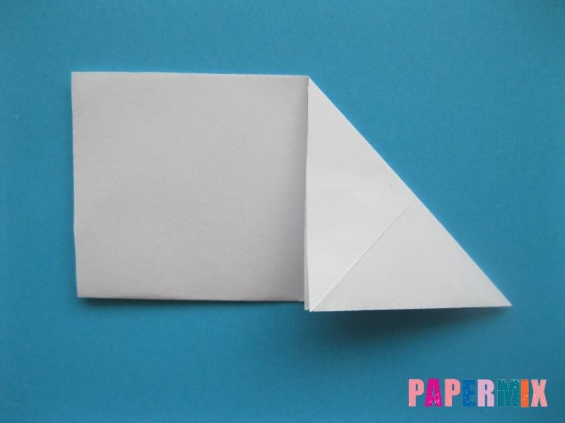 Как сделать морскую звезду из бумаги (оригами) поэтапно - шаг 3