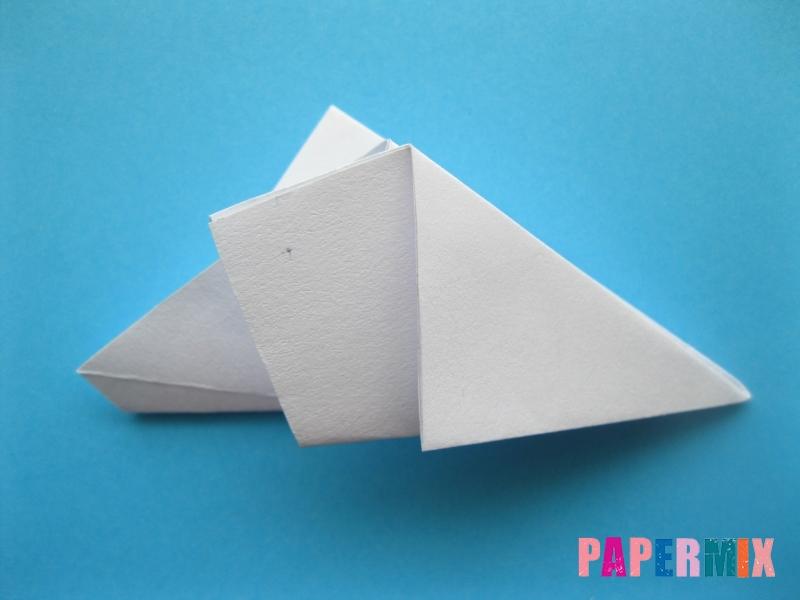 Как сделать морскую звезду из бумаги (оригами) поэтапно - шаг 8