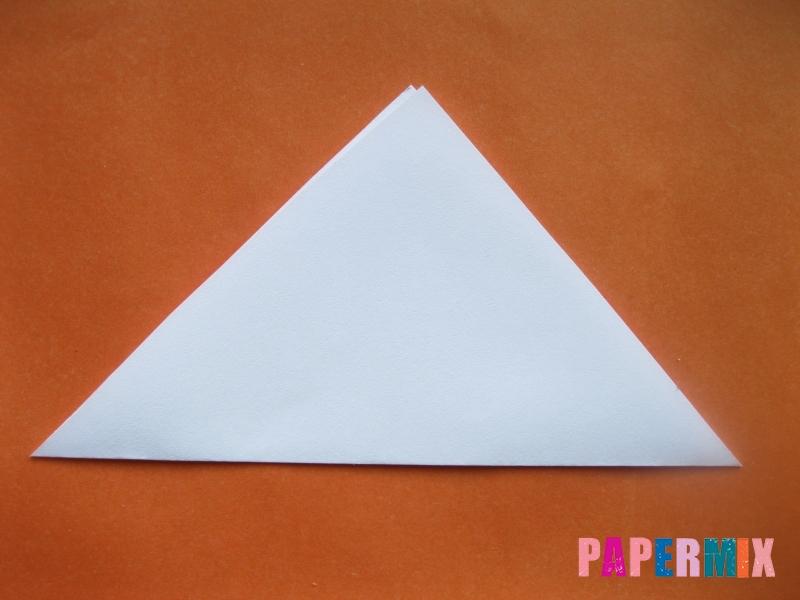 Как сделать моржа из бумаги (оригами) своими руками - шаг 1