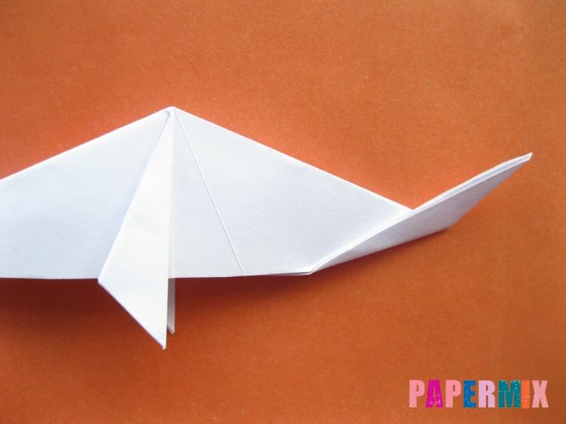 Как сделать моржа из бумаги (оригами) своими руками - шаг 12