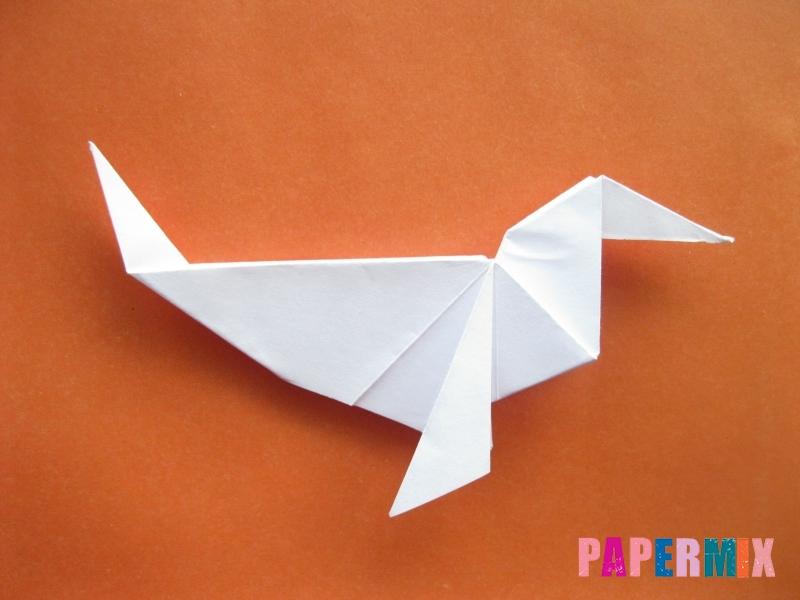 Как сделать моржа из бумаги (оригами) своими руками - шаг 16