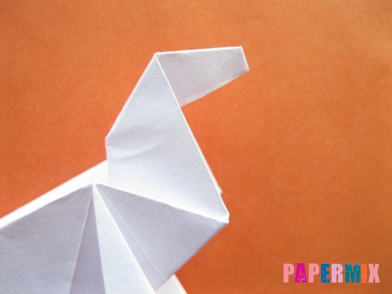 Как сделать моржа из бумаги (оригами) своими руками - шаг 17
