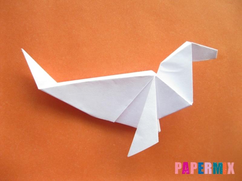 Как сделать моржа из бумаги (оригами) своими руками - шаг 18