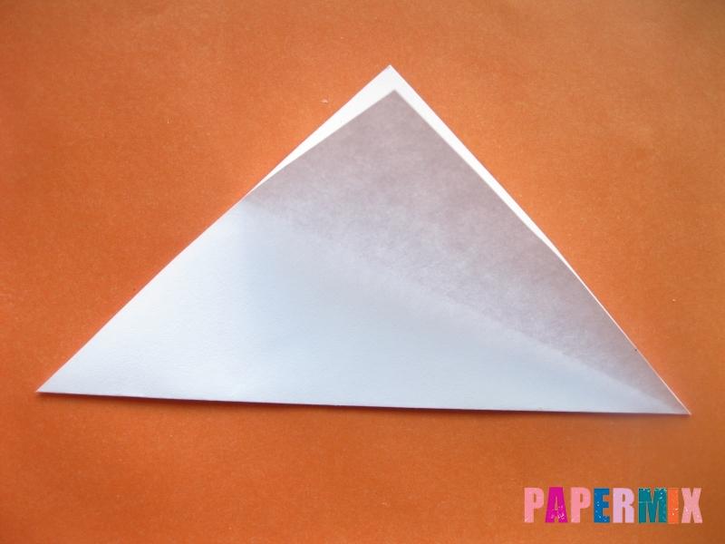 Как сделать моржа из бумаги (оригами) своими руками - шаг 2
