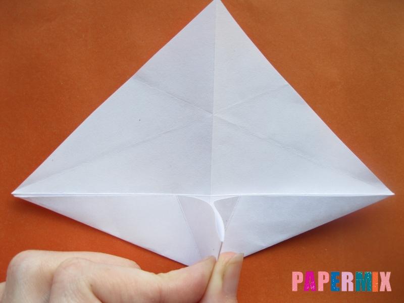 Как сделать моржа из бумаги (оригами) своими руками - шаг 6