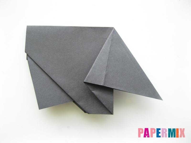 Как сделать носорога из бумаги (оригами) поэтапно - шаг 9