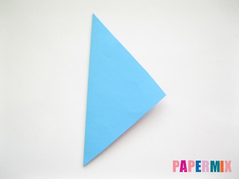 Как сделать объемную бабочку из бумаги поэтапно - шаг 1
