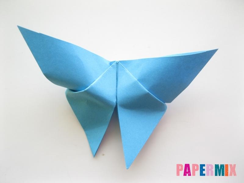 Как сделать объемную бабочку из бумаги поэтапно - шаг 10