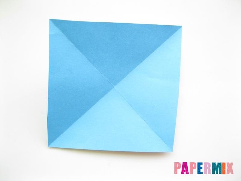 Как сделать объемную бабочку из бумаги поэтапно - шаг 3