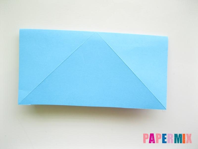 Как сделать объемную бабочку из бумаги поэтапно - шаг 4