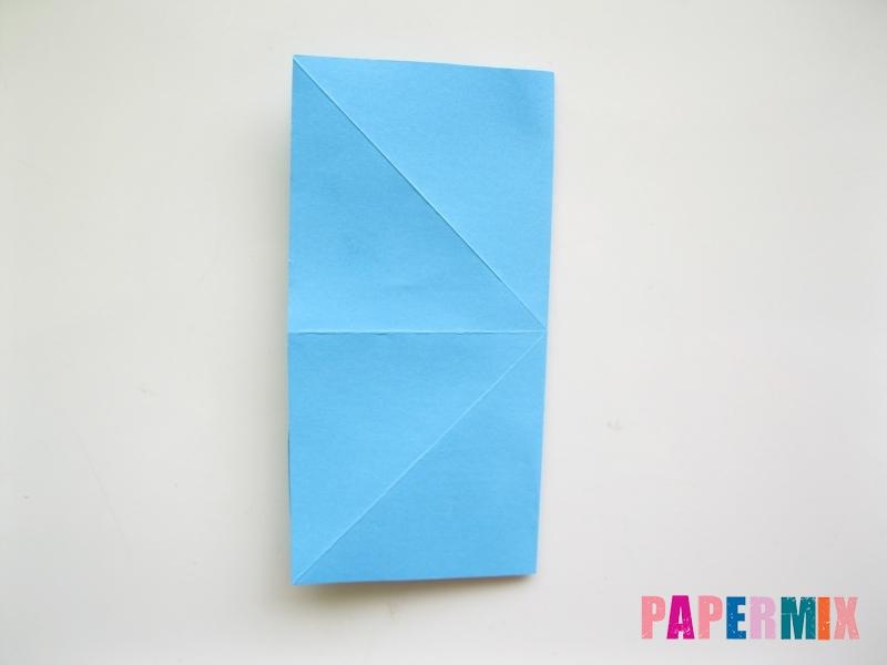 Как сделать объемную бабочку из бумаги поэтапно - шаг 5