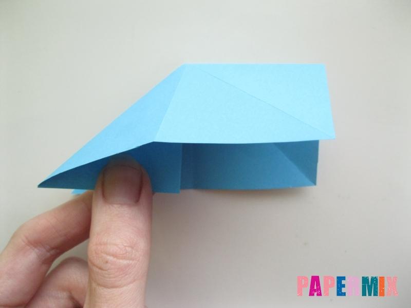 Как сделать объемную бабочку из бумаги поэтапно - шаг 6