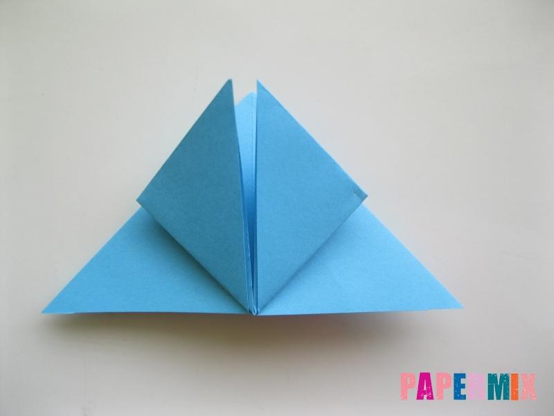 Как сделать объемную бабочку из бумаги поэтапно - шаг 8